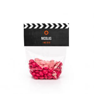 Snoeplabel filmklapper
